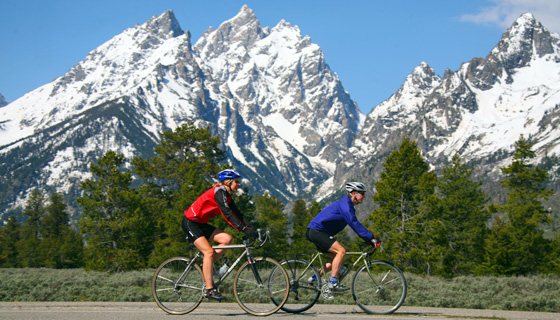 Yellowstone & Tetons Multisport Tour